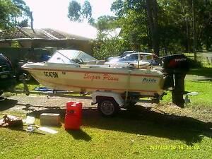 Pride Premier 4.65mt with a  90hp Tohatsu outboard Mallabula Port Stephens Area Preview