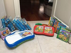 Leap Pad little touch and Vtech touch and teach