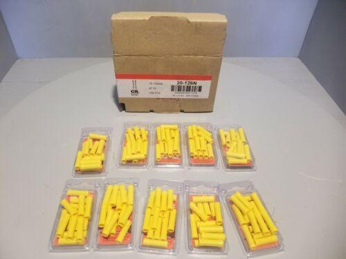 Box of 10 Gardner Bender Butt Splice, 15pk, 20-126