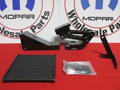 DODGE RAM 1500 2500 Black Swing Out Bed Corner Step NEW OEM MOPAR