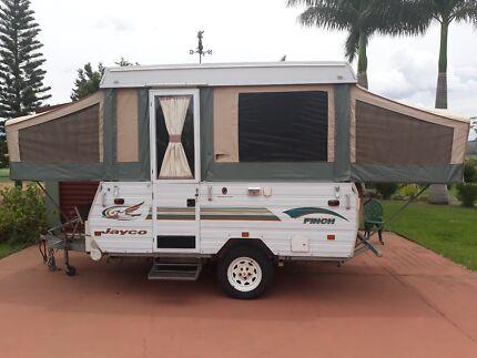 2002 Jayco Finch pop top caravan Kalbar Ipswich South Preview