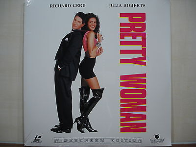 PRETTY WOMAN LaserDisc eingeschweißt NEU & OVP doppel LD JULIA ROBERTS R.GERE
