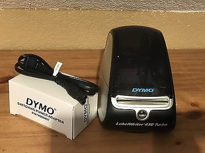 Dymo Labelwriter 450 Turbo Thermal Printer. Free Shipping. Excellent Condition