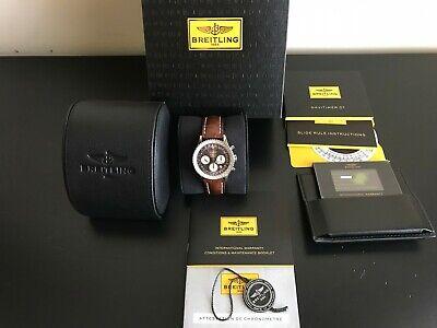 Limited Edition Breitling Navitimer 01 Panamerican 43mm; AB0121C4/Q605;Alligator