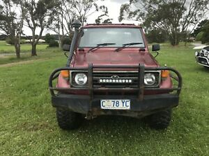 1999 Toyota Landcruiser (4x4) 5 Sp Manual 4x4 C/chas