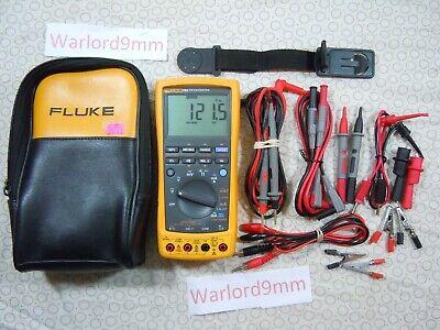 Fluke 789 Processmeter Kit With Lots Of Accessories Fluke Storage Case-15720.