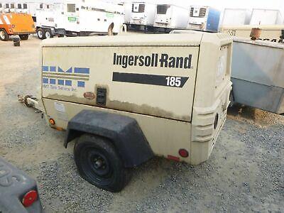 2005 Ingersoll-rand P185wjd Ir Portable Air Compressor 185 Cfm 2898