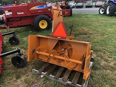 Woods Sb54s Three Point Mounted Snow Blower For Compact Tractors 540 Pto