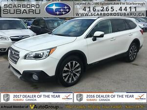 2015 Subaru Outback 3.6R LTD Pkg, LEATHER SEATS, POWER SUNROOF !