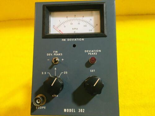 ***NEW*** VINTAGE CUSHMAN ELECTRONICS MODEL 302 FM DEVIATION PLUG IN MODULE