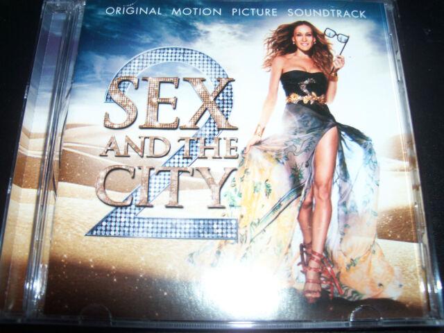 Sex And The City 2 Soundtrack CD Alicia Keys Cyndi Lauper Liza Minelli -Like New
