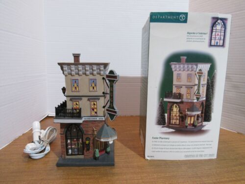 Dept. 56 Christmas In The City 2000 Foster Pharmacy #56.58916