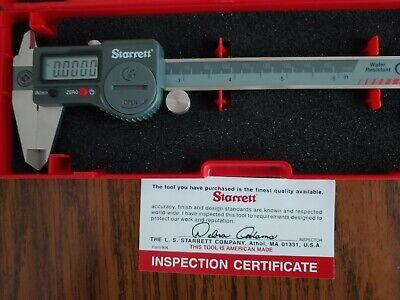 Starrett No. 798a-6150 Electronic Digital Caliper 6 150mm