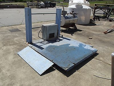 Blue Giant Lift Model 3s72x84 3000lb Capacity 115v 1 Phase 60hz