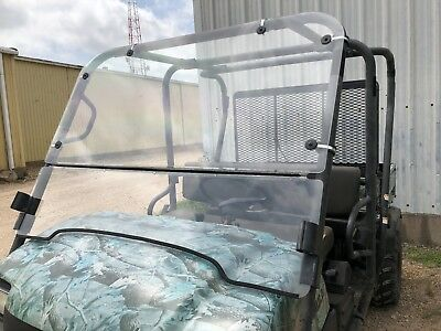 KAWASAKI MULE 3000,3010 TRANS 4X4 FULL AND FLIP UP 3/16 POLYCARBONATE (Mule Trans 4 X 4)