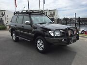 03 TOYOTA L/CRUISER SAHARA 100 SERIES FACTORY T/DIESEL 4X4 WAGON! Mordialloc Kingston Area Preview