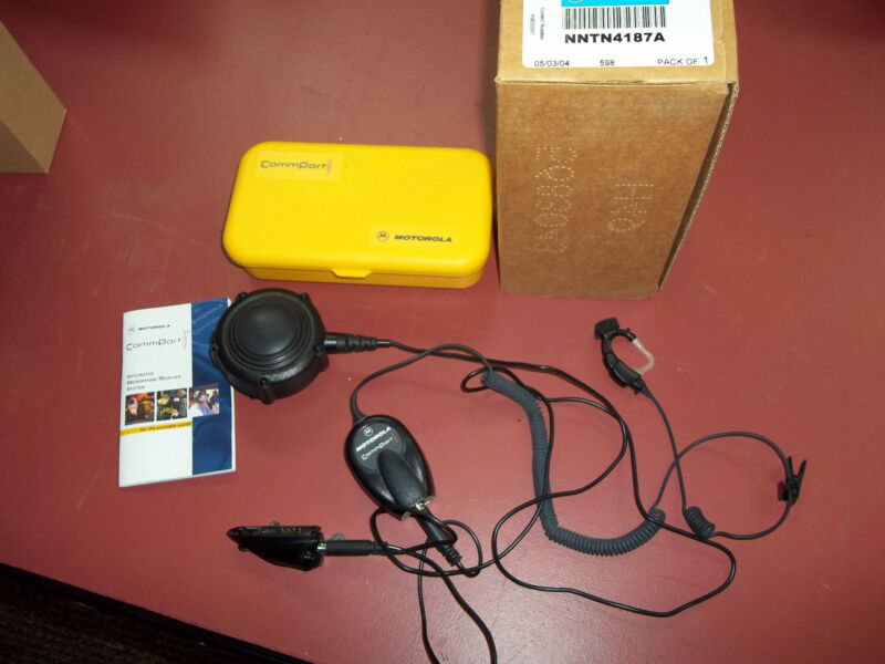 Commport Integrated Microphone/Receiver System