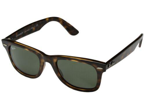 Ray Ban Wayfarer RB4340 710 50MM Tortoise / Green 50mm Sunglasses