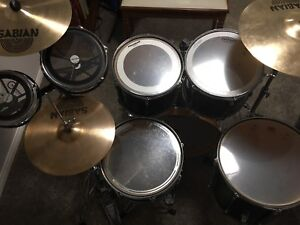 Complete Set - Not a Shellpack Pearl Sabian Roto Toms