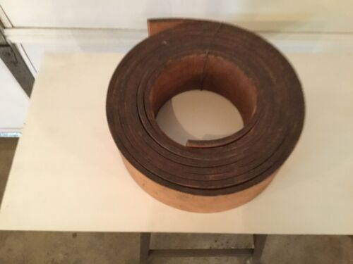 Vintage Heavy Leather machinists Drive belt