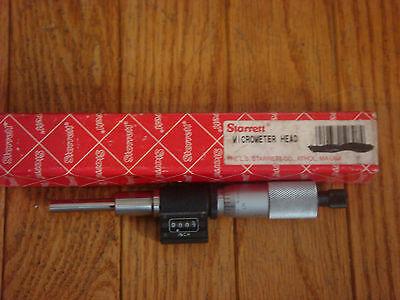 Starrett 363fl Digital Micrometer Head 0-1 Range 0.001 Graduation