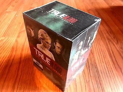 True Blood The Complete Series Seasons 1,2,3,4,5,6,7 DVD Disc Box Set free shipp