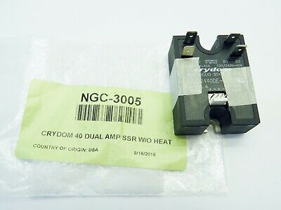 Turbochef Ngc-3005 Crydom 40 Dual Amp Solid State Relay Oem New