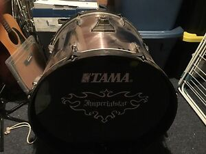 1000. Tama imperialstar 8 piece with 3 sided rack.