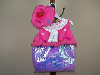Koala Kids 2-Piece Cupcake Halloween Costume Girls 6/9M 9/12M *NEW W/ TAGS*](Girls Cupcake Costume)