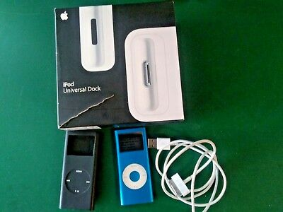 Apple iPod nano A1199  2nd Gen MP3 4GB and Accessories Apple Ipod Nano 4 Gb Accessories