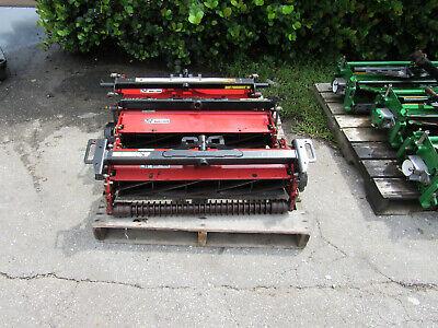 Set Of 3 Toro 30 Reels Fits 3100d Toro Trim Mower Sidewinder Reelmaster 03238