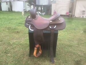 "16"" Billy Cook Cutting Saddle Cooyar Toowoomba Surrounds Preview"