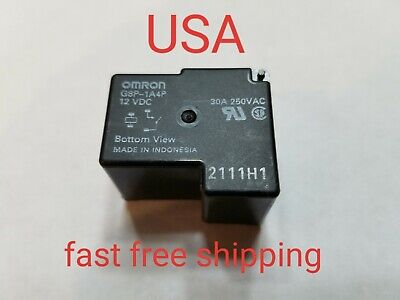 Omron General Purpose Relay G8p-1a4p Dc12 30a 250vac 12vdc Coil New
