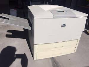 1 x HP 9050DN & 1 x HP 8150DN Laser Printers! $70 For Both! Madeley Wanneroo Area Preview
