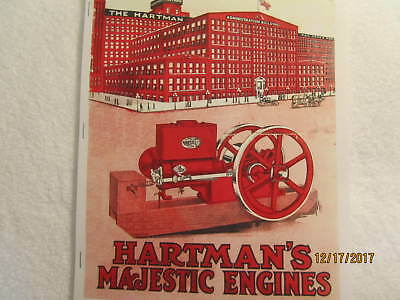 1916 Hartman Co Majestic Gas Engine Catalog All Sizes Hit Miss Mags Pumps