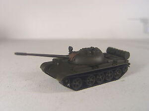 Kampfpanzer T 55 Russland / NVA  - Herpa Minitank  HO 1:87 Modell  744478 #E