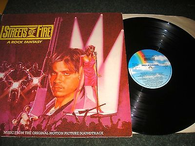 MOVIE SOUNDTRACK STREETS OF FIRE-THE FIXX-DAN HARTMAN-RY COODER-MARILYN MARTIN