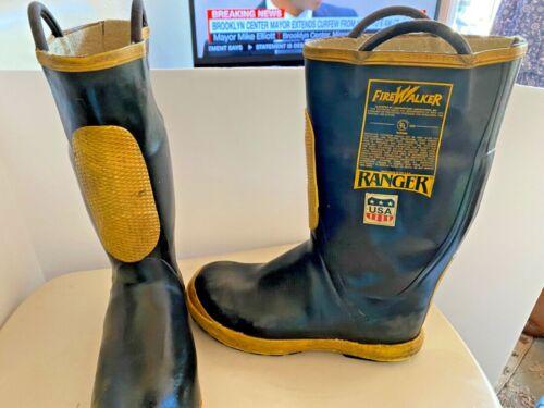 FireWalker Firemen Steel Toe NFPA USA Ranger Boots Size 13 Medium   SKU 072-010