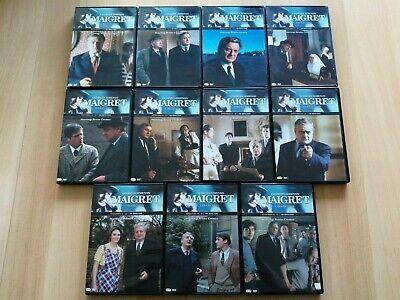 MAIGRET AVEC BRUNO CREMER - LOT DE 11 DVD POUR 22 EPISODES
