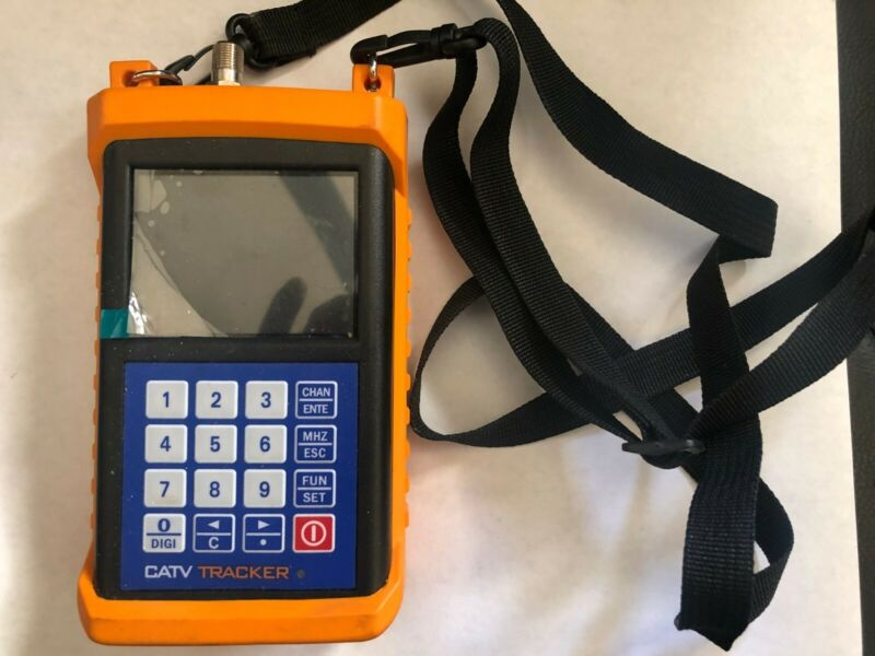 Orbital Tracker Otm750 CATV METER; Never Used | *NO CHARGING ADAPTER/CABLE