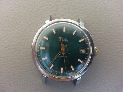 Russian Watch Poljot . Automatic . Self - Winding . Made in USSR . 23 jewels .