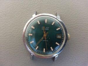 Russian Watch Poljot . Automatic . Self - Winding . Made in USSR . 23 jewels .