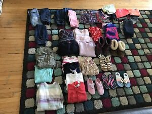 Girls clothing, shoes and jackets 6yr