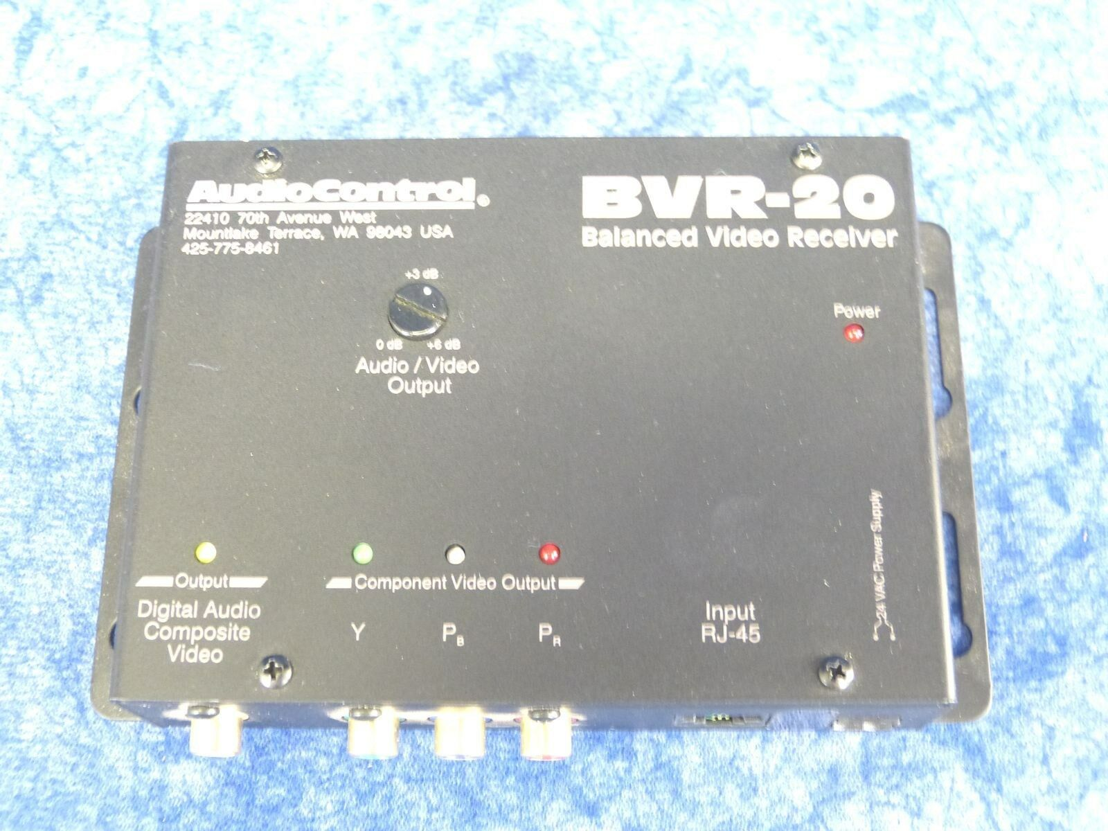 Audio Control BVR-20 Balanced Video Receiver