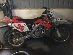 2004 crf 250r blown motor