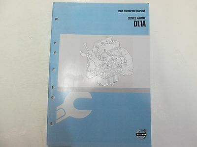2014 Volvo Construction Equipment D1.1a Service Repair Manual Factory Oem 14