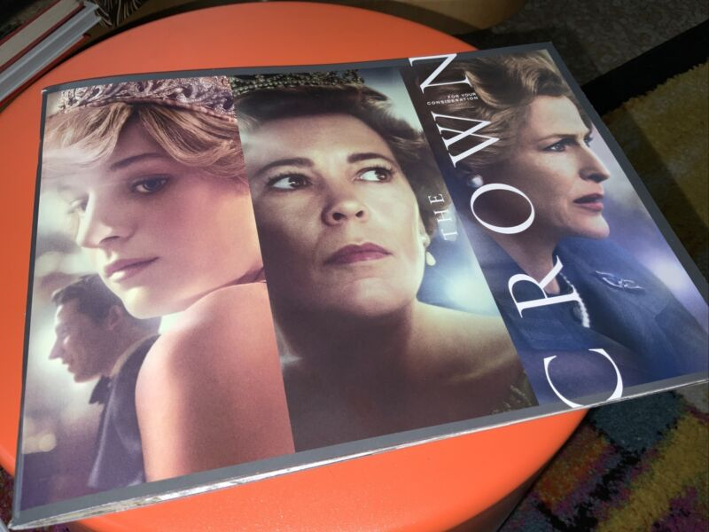 THE CROWN FYC PROMO BOOKLET