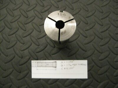 """YOU PICK YOUR SIZE AND QUANTITY 1//32/"""" INCREMENTS TG-100 COLLET"""