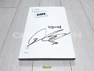BTS Love Yourself HER Jin SIGNED ALBUM KPOP VERY RARE