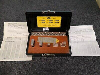 Doall Mc Micrometer Gage Blocks Class 1 Or Equal C1006
